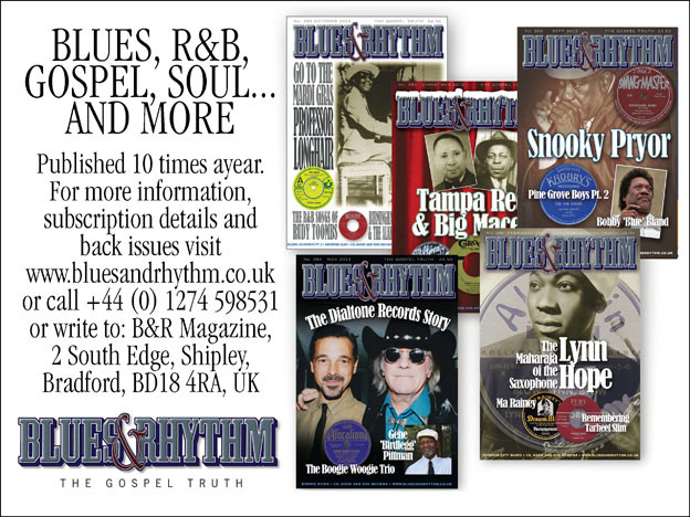 blues & rhythm ad image