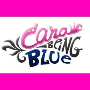 cara being blue cd image