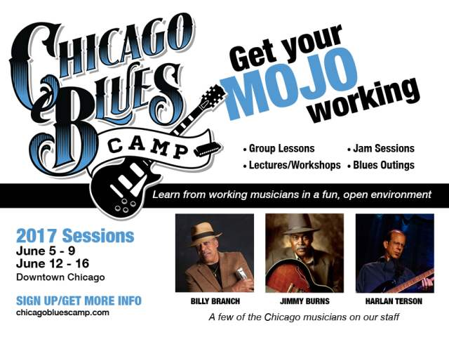 chicago blues camp ad image