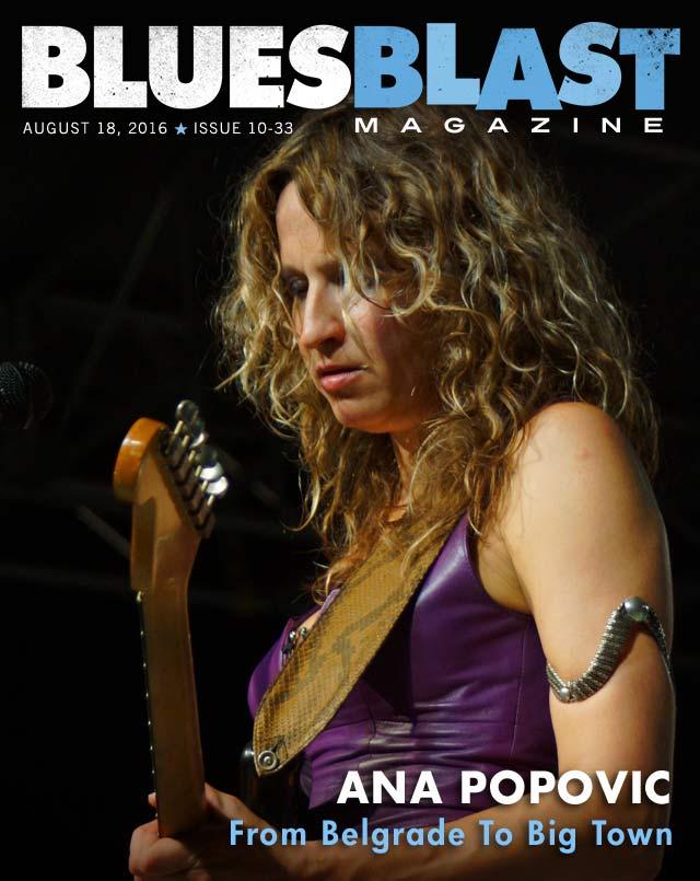 Issue 10-33 August 18, 2016 – Blues Blast Magazine