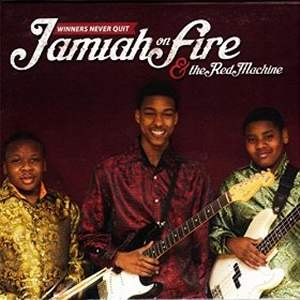 jamiah on fire cd image