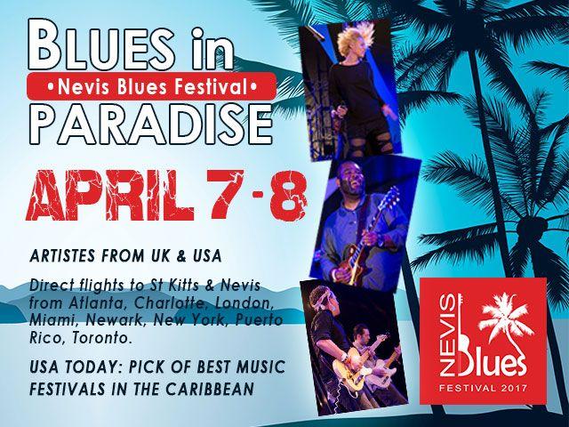 nevis blues fest ad image