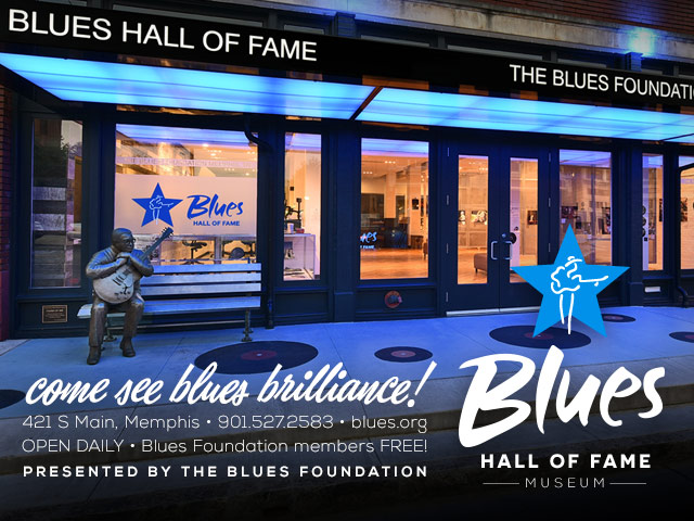 Blues hall of fame ad image