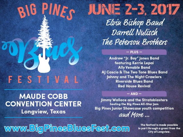 big pines blues fest ad image