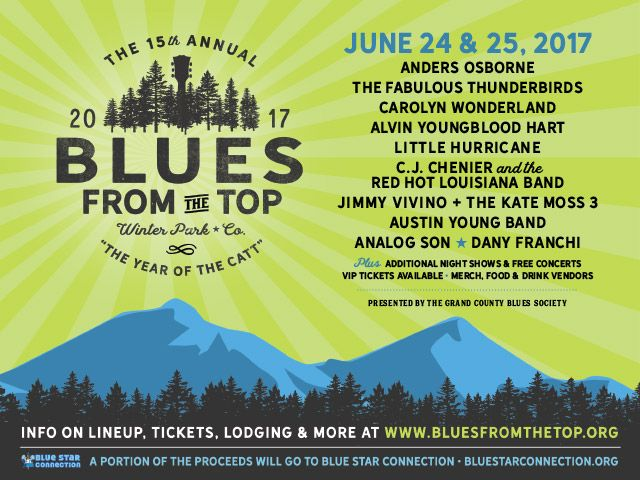 blues from the top ad image