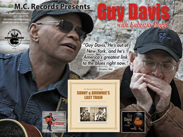 guy davis cd ad image