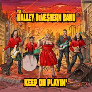 halleydeverternband cd