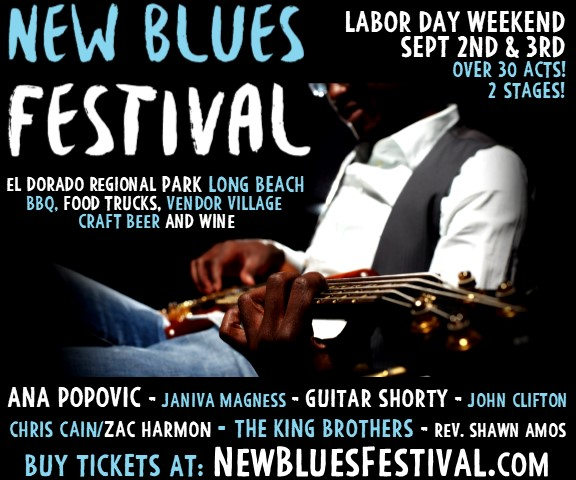 new blues festival ad image