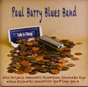 paul berry blues band cd image