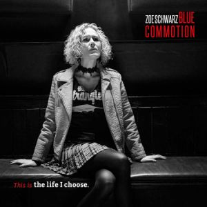 Zoe Schwarz Blue COmmotion cd image