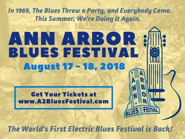 ann arbor blues fest ad image