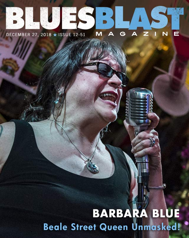 magazine cover image of Barbara Blue