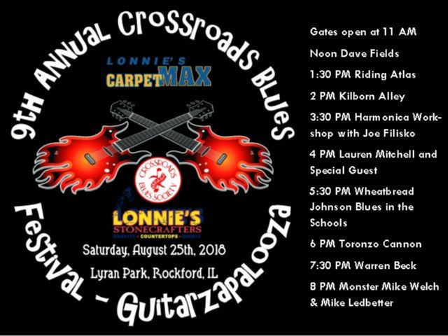 crossroade blues fest ad image