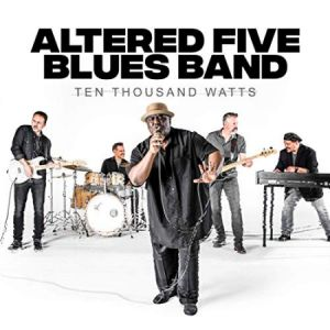 altered five blues band cd