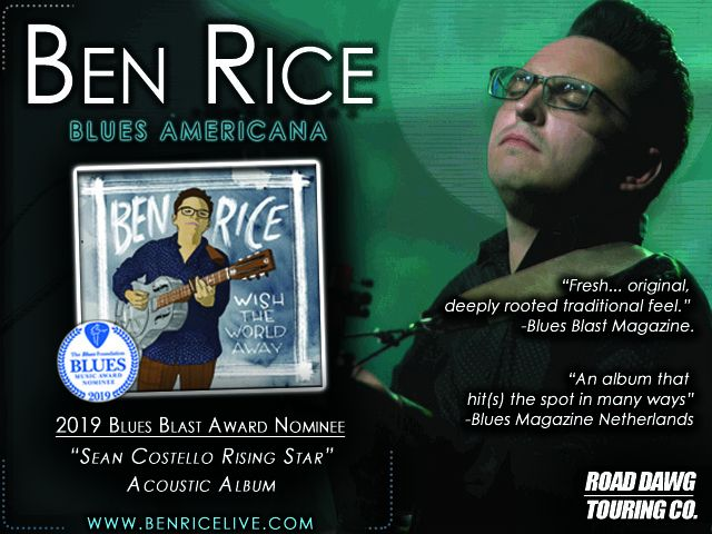 Ben RIce BBMA ad image