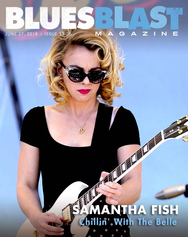 Samantha fish magazine cover image