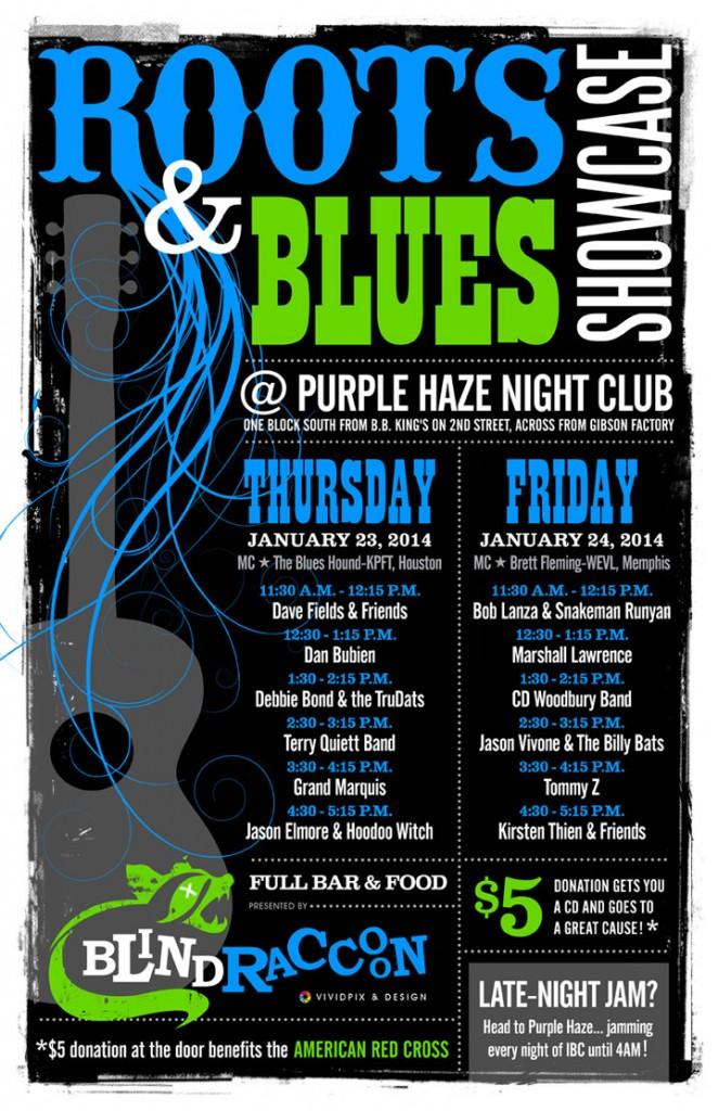 2014BlindRaccoonRoots&BluesShowcase