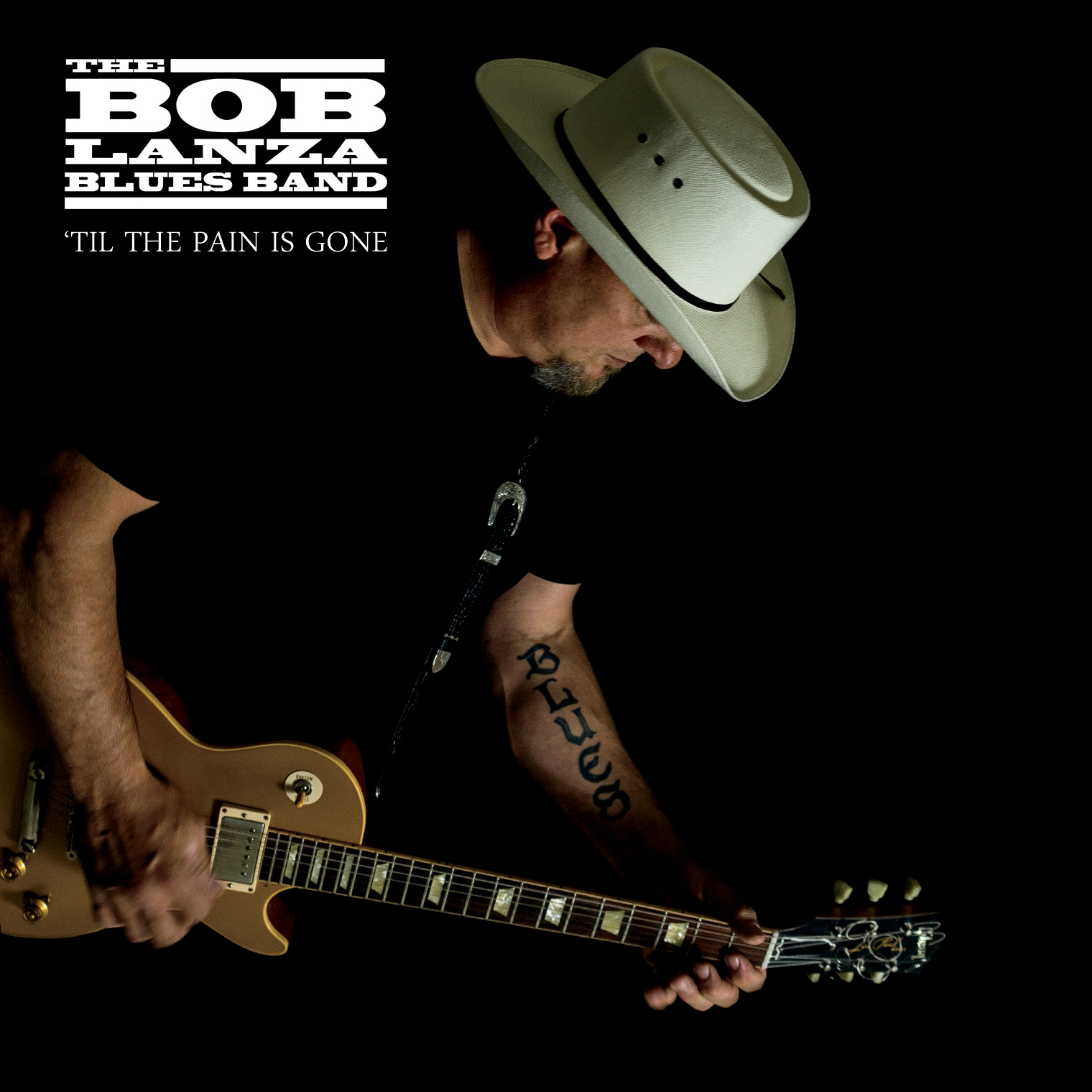 Bob Lanza Blues Band 'Til The Pain Is Gone CD Cover