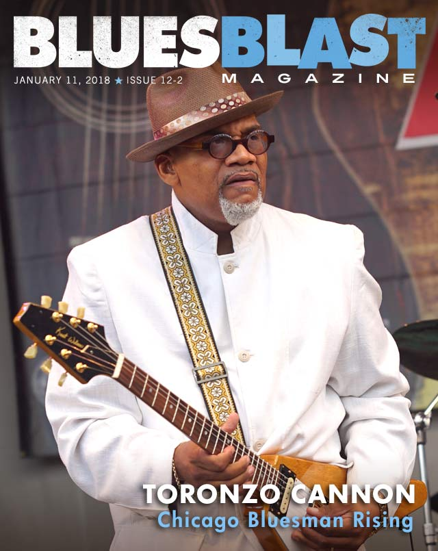 Featured Interview-Toronzo Cannon – Blues Blast Magazine